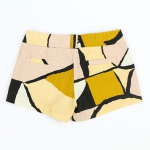 J. Crew Shorts - J Crew Gallery Shorts Geometric Abstract Summer 2